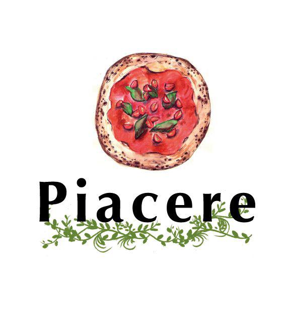 Piacere  menu illustration